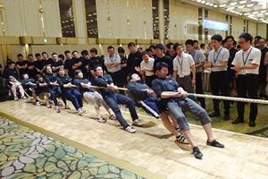 JOSKAS CUP 綱引き大会において、神戸大学が昨年に引き続き2連覇を遂げました。