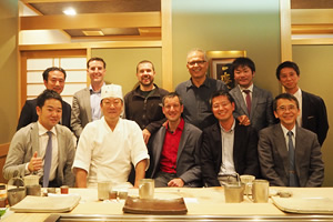 Travelling Fellowship Programとして ヨーロッパから4名の整形外医の先生方が神戸大学整形外科を訪問されました。