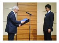 深瀬直政先生が整形災害外科学研究助成財団の財団奨励賞を受賞されました。