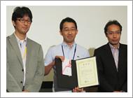 角谷賢一朗先生が第6回JASA にて Best Presenter Award を受賞しました。