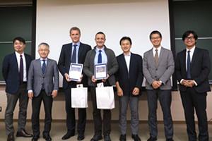 Travelling fellowshipにて2名の先生方がイタリア、トルコより神戸大学整形外科を訪問されました。