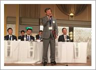 鷲見正敏先生と田中寿一先生が「日本整形外科学会功労賞」を受賞されました。