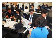 「神戸大学病院ナビ」(神戸大学病院群研修説明会)が開催されました。