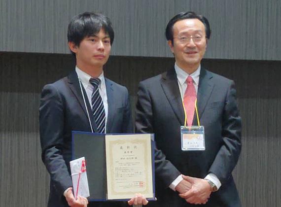 神田裕太郎先生が Young Investigator Award(YIA)優秀賞を受賞されました。