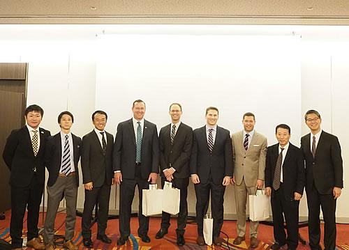 Travelling fellowshipにて 4名の先生方がアメリカより神戸大学整形外科を訪問されました。