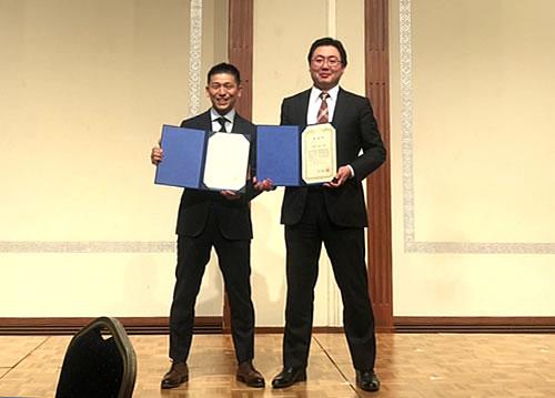 片岡武史先生と黒澤堯先生が第62回日本手外科学会学術集会にてベストペーパーアワードを受賞されました。